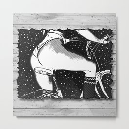 Night Ride Metal Print
