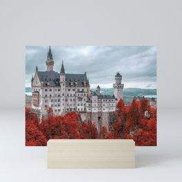 Breathtakingly Beautiful Fairytale Neuschwanstein Castle Schwangau Bavaria Germany Europe Ultra HD Mini Art Print