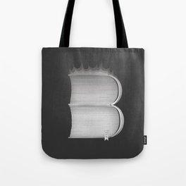 "B - Ray Bradbury ""Fahrenheit 451"" Tote Bag"
