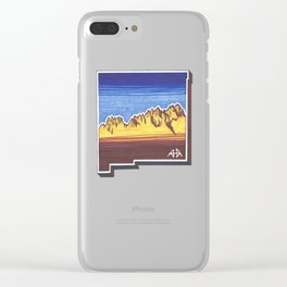 Las Cruces, New Mexico Clear iPhone Case