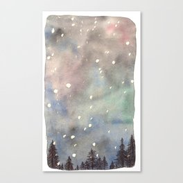 Nordic Lights Canvas Print