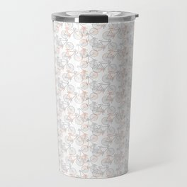 Vintage Bike Pattern Travel Mug