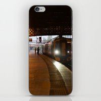 train iPhone & iPod Skins featuring Train by RMK Photography