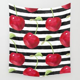 Cherry pattern Wall Tapestry