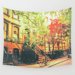 New York City Summer Wall Tapestry