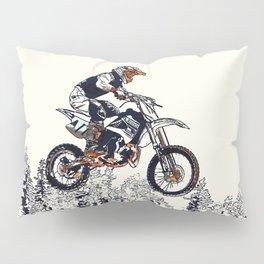 """""""High Flyer"""" Motocross Racer Pillow Sham"""