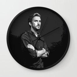 Dan Stevens 8 Wall Clock