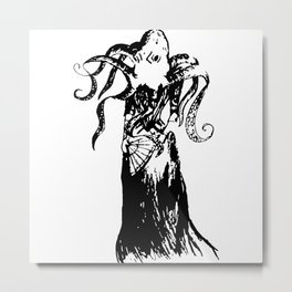 Madame Octopus Metal Print