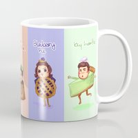 1d Mugs featuring 1d Desserts!  by justsomestuff