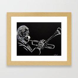 Dizzy Be Bop Framed Art Print