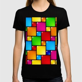 Colors and squares T-shirt