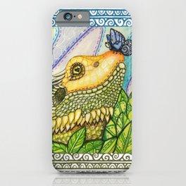 Irene's Bearded Dragon Square iPhone Case
