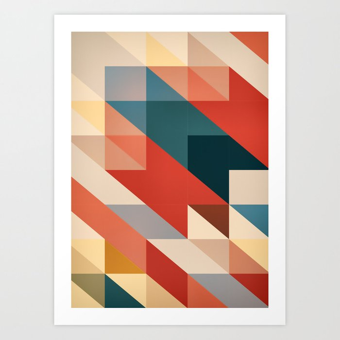 ABSTRACT 9D Art Print