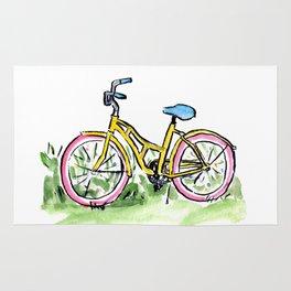 Pastel Primary Bicycle Rug