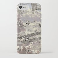 airplanes iPhone & iPod Cases featuring airplanes 2 by Кaterina Кalinich