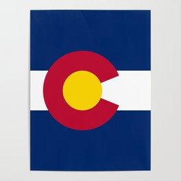 Colorado State Flag Poster