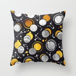 Great Total Solar Eclipse Throw Pillow