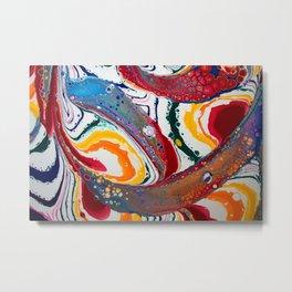 Rainbow Flow Metal Print