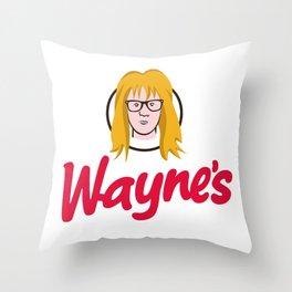 WAYNE'S SINGLE #2 Throw Pillow