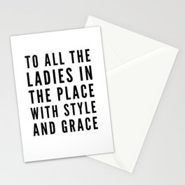 Big Poppa Notorious BIG lyrics Stationery Cards