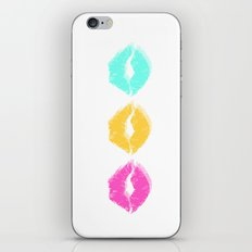 Bright Kisses iPhone & iPod Skin