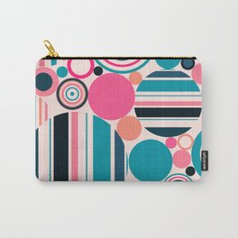 Psychedelicpop pattern Carry-All Pouch