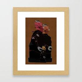 Family Unit Framed Art Print