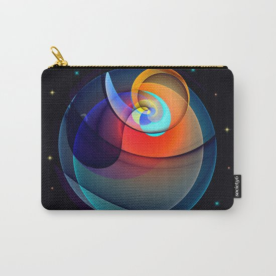 Other dimensions, colourful fractal abstract Carry-All Pouch