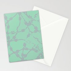 Thorns Mint Stationery Cards