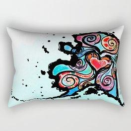 Alaska Love Rectangular Pillow