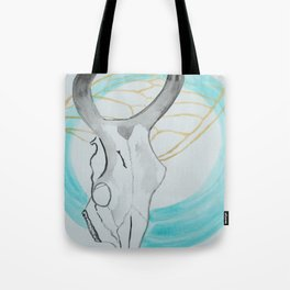Bone and Wing Tote Bag