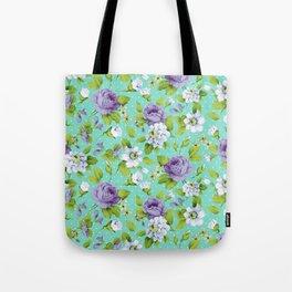 Hopeless Romantic - aqua version Tote Bag