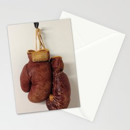 Golden Gloves Stationery Cards
