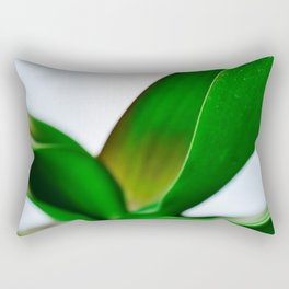 Orchid leaves Rectangular Pillow