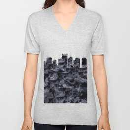 Richmond Skyline Virginia Unisex V-Neck