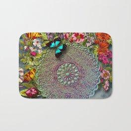 Mandala Flower Bath Mat