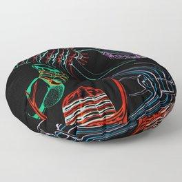 Ordovician Era Trilobites 2 Floor Pillow