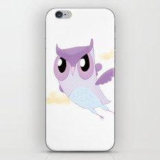 Purple Owl iPhone & iPod Skin