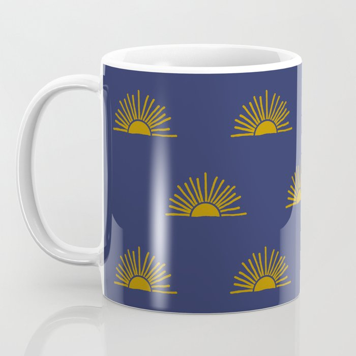 Sol in Indigo Coffee Mug