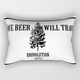 Where Do You Roam? Rectangular Pillow