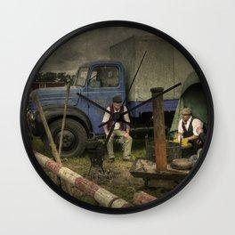 Somerset Roadies Wall Clock
