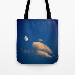 Gibbous Moon Tote Bag