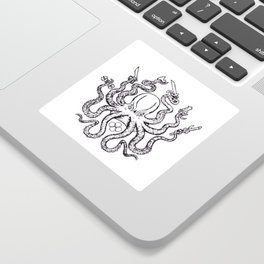 Fight lab Octopus Sticker