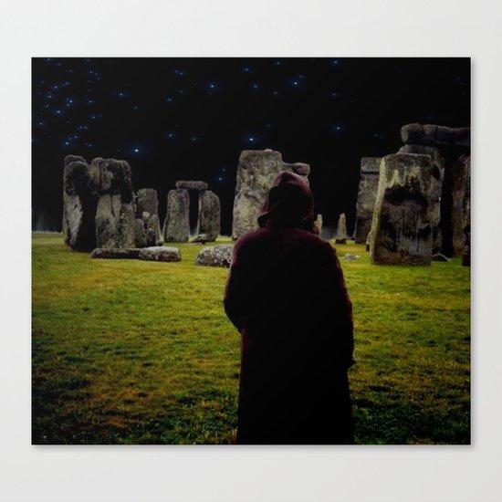 Druid Princess of Stonehenge Canvas Print