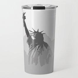 Celebrating July 4 Travel Mug