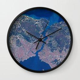 Istanbul & Bosporus Wall Clock