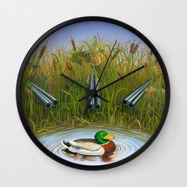 Sitting Duck Wall Clock