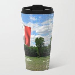 Acadie terre de nos racines ! Travel Mug