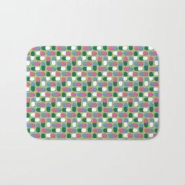Colorful pills Bath Mat