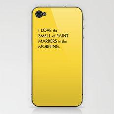 LEMONBITE NO. 5 iPhone & iPod Skin